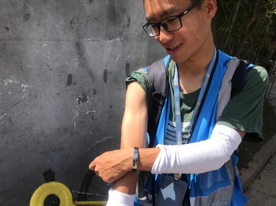 高温下的坚守:南京共享单车运维小哥:做共享出行的守护人